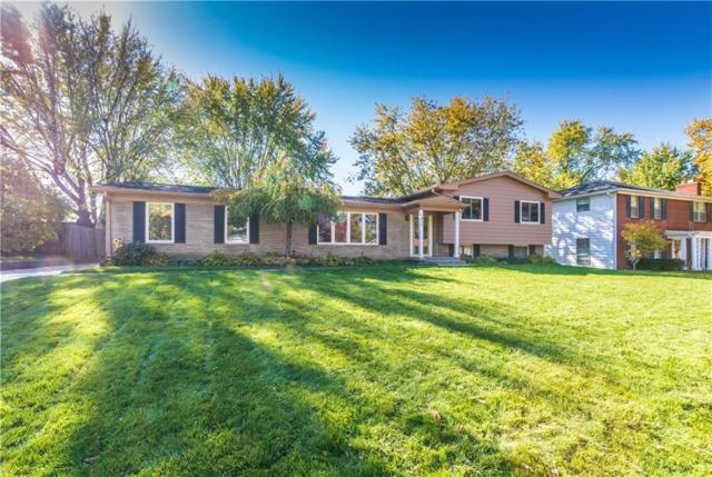 853 Hickory Drive, Carmel, IN 46032 (MLS #21624179) :: Mike Price Realty Team - RE/MAX Centerstone
