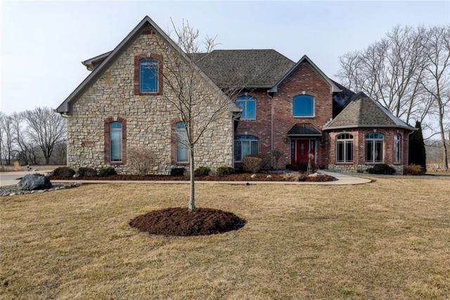 1592 S Silver Shadow Circle, Greenfield, IN 46140 (MLS #21624194) :: AR/haus Group Realty