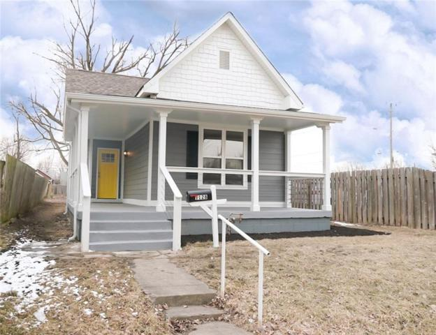 1128 S State Avenue, Indianapolis, IN 46203 (MLS #21625957) :: Mike Price Realty Team - RE/MAX Centerstone