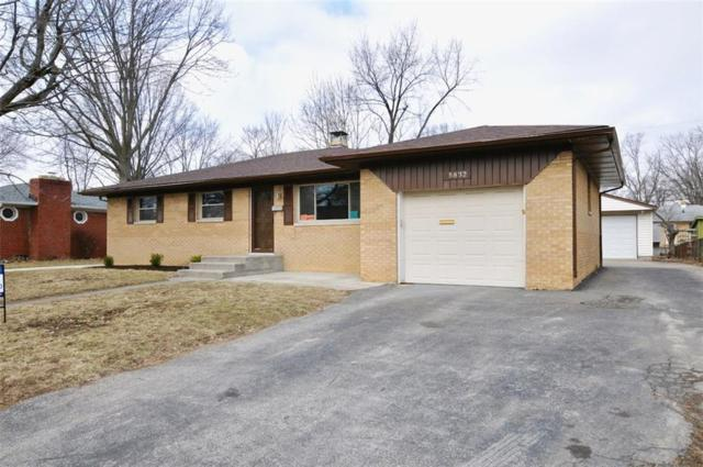 5832 Schoolwood Drive, Speedway, IN 46224 (MLS #21626078) :: Mike Price Realty Team - RE/MAX Centerstone