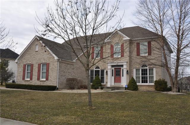 800 Silverleaf Drive, Greenwood, IN 46143 (MLS #21626386) :: The ORR Home Selling Team