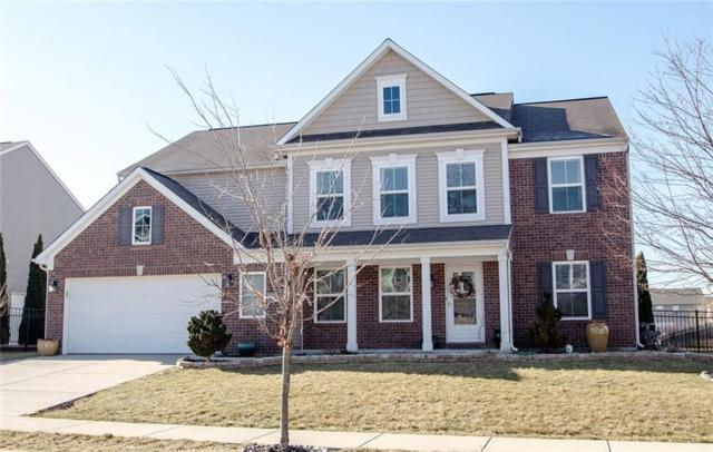 13093 Ambergate Drive, Fishers, IN 46037 (MLS #21626458) :: The ORR Home Selling Team