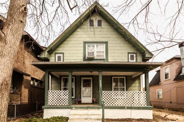 127 N Gladstone Avenue, Indianapolis, IN 46201 (MLS #21626896) :: AR/haus Group Realty