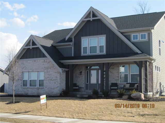 1521 W Springhurst Boulevard, Greenfield, IN 46140 (MLS #21626948) :: Mike Price Realty Team - RE/MAX Centerstone