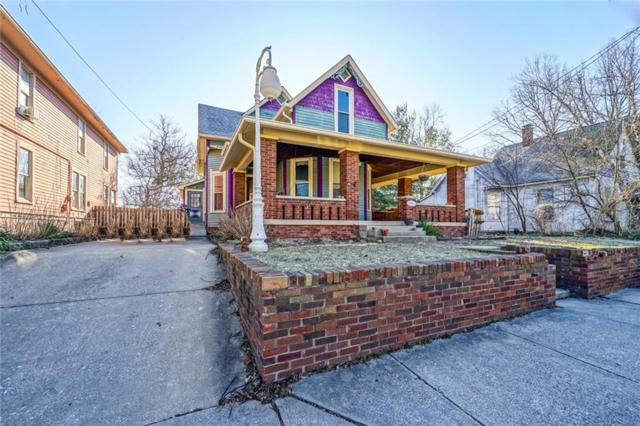 227 S Ritter Avenue, Indianapolis, IN 46219 (MLS #21626981) :: The Indy Property Source