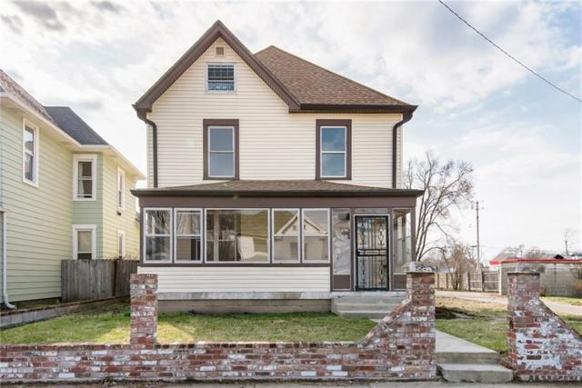 2450 N Carrollton Avenue, Indianapolis, IN 46205 (MLS #21627023) :: AR/haus Group Realty