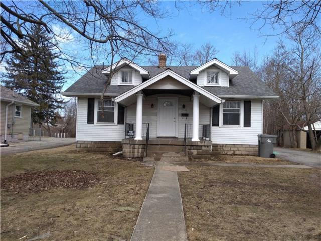 5520 E 21st Street, Indianapolis, IN 46218 (MLS #21627300) :: Mike Price Realty Team - RE/MAX Centerstone