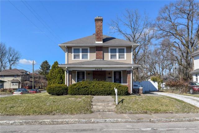 3402 Carrollton Avenue, Indianapolis, IN 46205 (MLS #21627629) :: AR/haus Group Realty