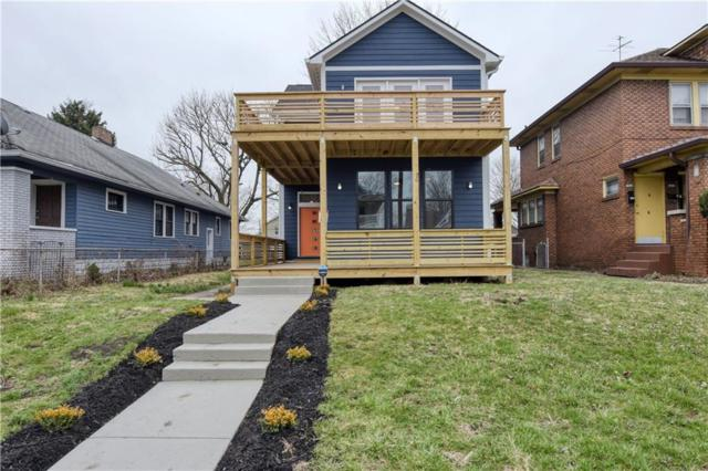 1615 Woodlawn Avenue, Indianapolis, IN 46203 (MLS #21628027) :: The Indy Property Source