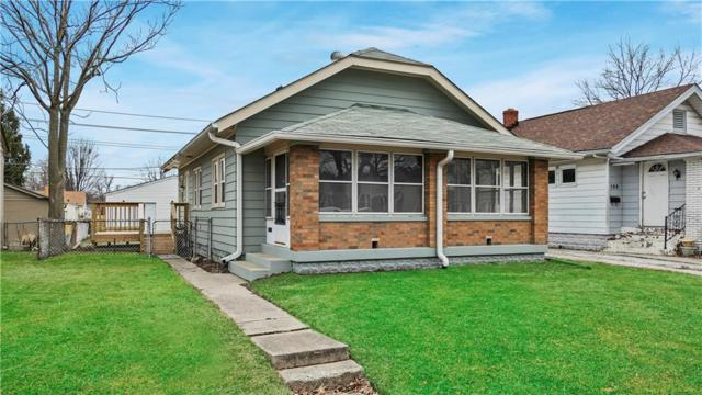 130 N 4th Avenue, Beech Grove, IN 46107 (MLS #21628157) :: HergGroup Indianapolis