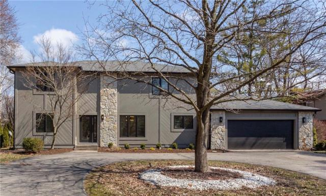 7869 Sunset Lane, Indianapolis, IN 46260 (MLS #21628311) :: The ORR Home Selling Team