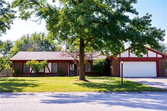 920 Monteray Road, Greenwood, IN 46143 (MLS #21628352) :: FC Tucker Company