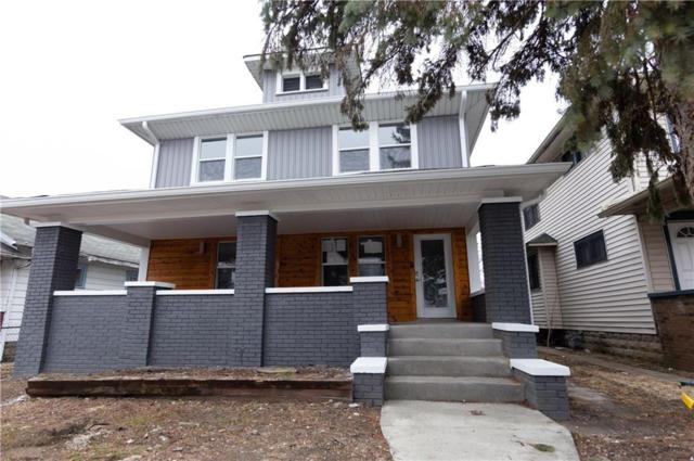 609 N Oxford Street, Indianapolis, IN 46201 (MLS #21628536) :: FC Tucker Company