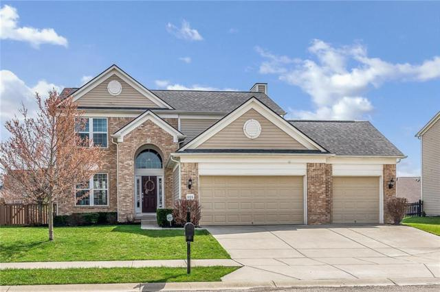 865 Burgess Hill Pass, Westfield, IN 46074 (MLS #21628997) :: The Evelo Team