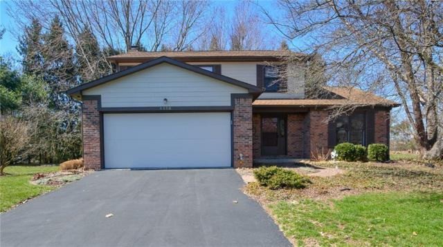 8158 Menlo Court West Drive, Indianapolis, IN 46240 (MLS #21629371) :: FC Tucker Company