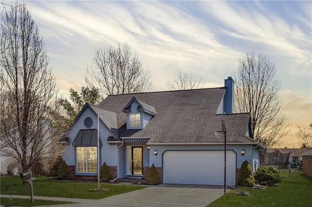 7613 Bayhill Drive, Indianapolis, IN 46236 (MLS #21629426) :: Mike Price Realty Team - RE/MAX Centerstone