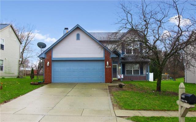 4885 Oakton Way, Greenwood, IN 46143 (MLS #21629705) :: FC Tucker Company