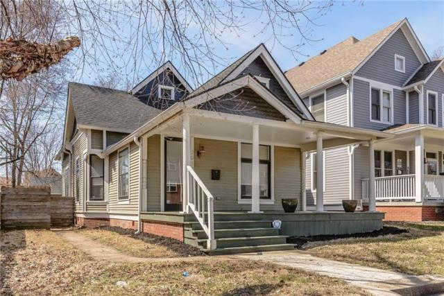 2012 Central Avenue, Indianapolis, IN 46202 (MLS #21629760) :: AR/haus Group Realty