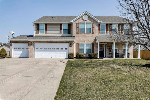 4592 W Stonehaven Lane, New Palestine, IN 46163 (MLS #21629819) :: Mike Price Realty Team - RE/MAX Centerstone