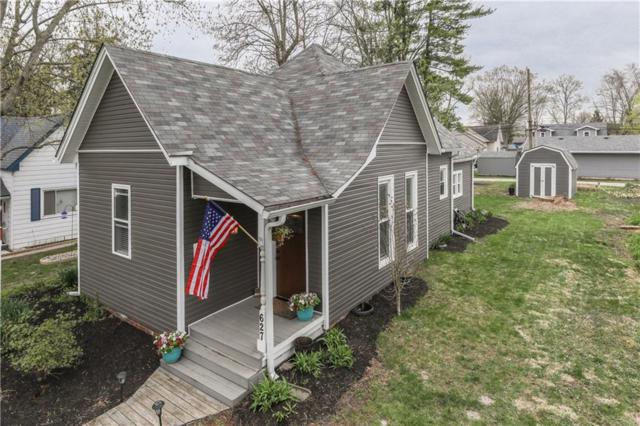 627 Forest Avenue, Greenwood, IN 46143 (MLS #21630118) :: The Indy Property Source
