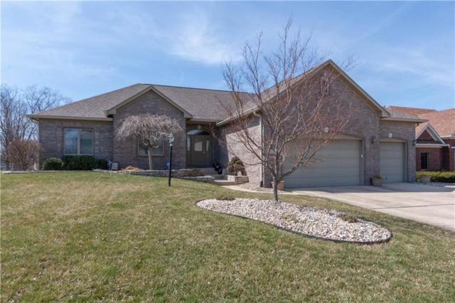 678 Walnut Woods Drive, Greenwood, IN 46142 (MLS #21630222) :: David Brenton's Team