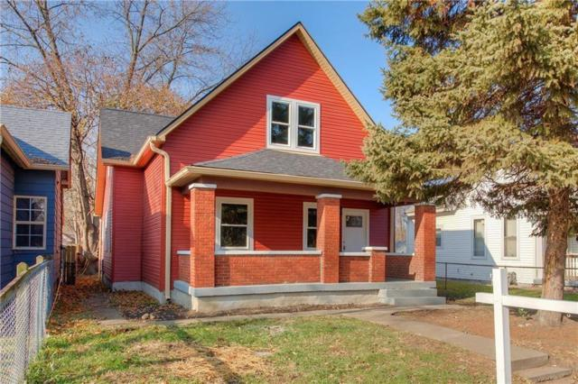 1126 N Hamilton Avenue, Indianapolis, IN 46201 (MLS #21630422) :: The ORR Home Selling Team