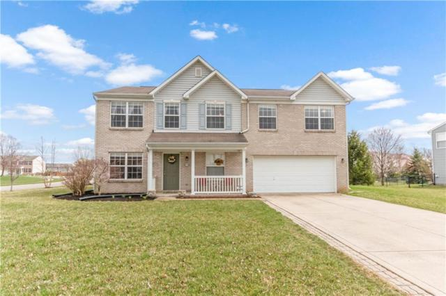 2361 S Wildflower Lane, New Palestine, IN 46163 (MLS #21630563) :: The Indy Property Source