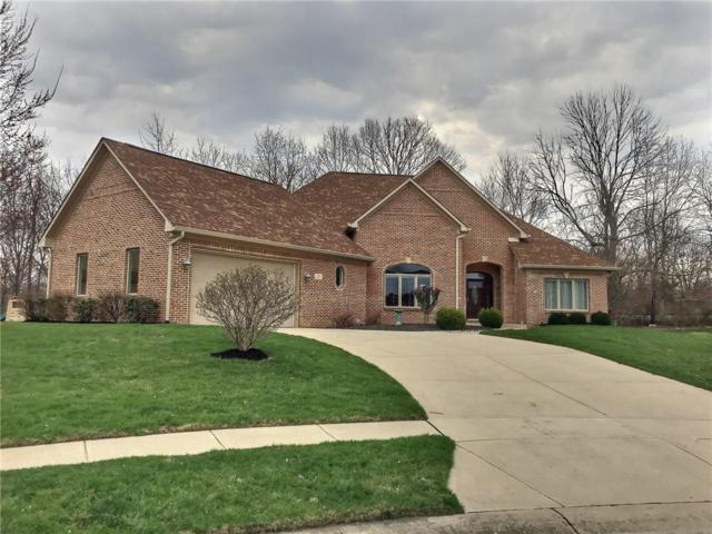 305 Southwind Lane, Greenwood, IN 46142 (MLS #21631120) :: David Brenton's Team