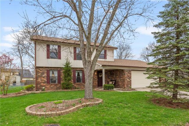 8814 Powderhorn Lane, Indianapolis, IN 46256 (MLS #21631338) :: David Brenton's Team