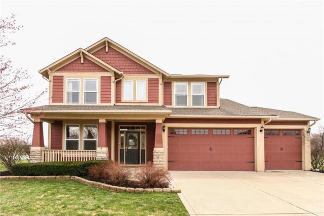 907 S Summerhaven, New Palestine, IN 46163 (MLS #21631460) :: The Indy Property Source