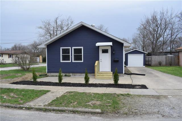 233 Sycamore, Chesterfield, IN 46017 (MLS #21631704) :: The ORR Home Selling Team