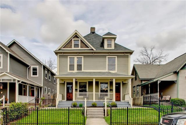 1214 E Vermont Street, Indianapolis, IN 46202 (MLS #21631711) :: Mike Price Realty Team - RE/MAX Centerstone