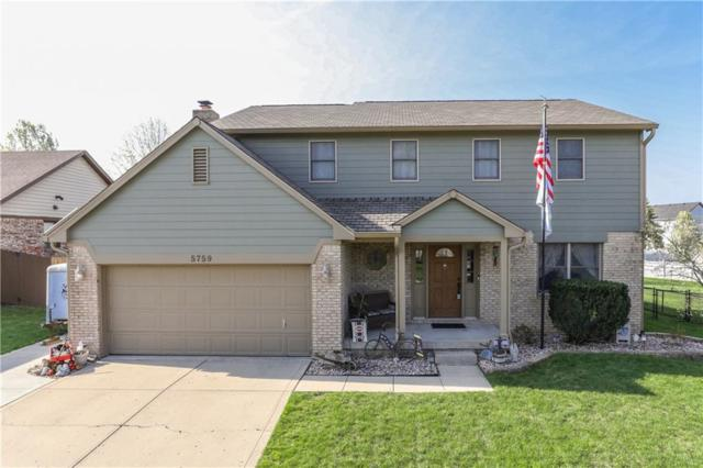 5759 Bold Ruler Drive, Indianapolis, IN 46237 (MLS #21631981) :: The Evelo Team