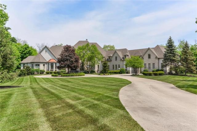 11101 W Hawthorne Ridge, Fishers, IN 46037 (MLS #21632186) :: The ORR Home Selling Team