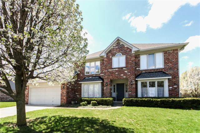 790 Crystal Lake Drive, Greenwood, IN 46143 (MLS #21632292) :: Richwine Elite Group