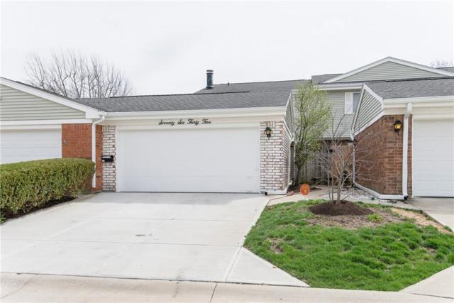 7635 Lancer Lane #58, Indianapolis, IN 46226 (MLS #21632441) :: The Evelo Team