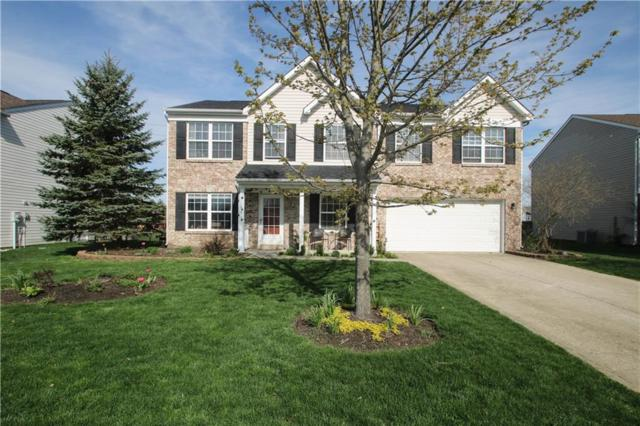 6518 Hunters Ridge N Drive, Zionsville, IN 46077 (MLS #21632465) :: The Evelo Team