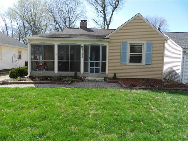 5806 Haverford Avenue, Indianapolis, IN 46220 (MLS #21632743) :: Richwine Elite Group