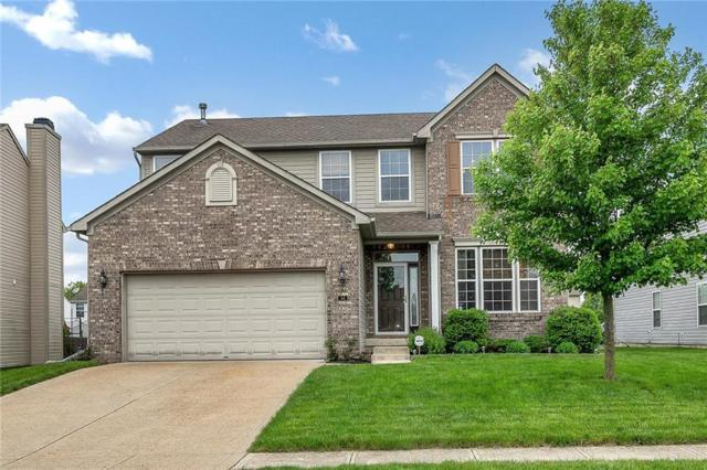 64 W Clear Lake Lane, Westfield, IN 46074 (MLS #21632840) :: HergGroup Indianapolis