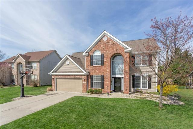 10212 Hawks Lake Drive, Fishers, IN 46037 (MLS #21632958) :: FC Tucker Company
