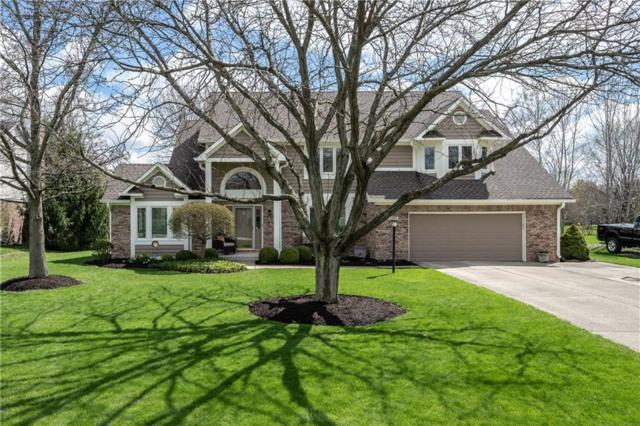 13901 Woods Edge Court, Carmel, IN 46032 (MLS #21633322) :: Mike Price Realty Team - RE/MAX Centerstone