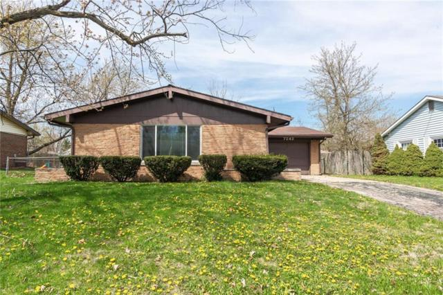 7242 E 50th Street, Lawrence, IN 46226 (MLS #21633360) :: Richwine Elite Group