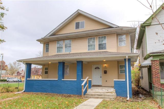 2341 N Carrollton Avenue, Indianapolis, IN 46205 (MLS #21633475) :: AR/haus Group Realty