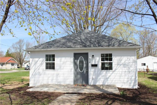 514 W 22nd Street, Anderson, IN 46016 (MLS #21633543) :: AR/haus Group Realty