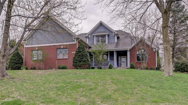 6681 Riverside Way, Fishers, IN 46038 (MLS #21633637) :: The Indy Property Source
