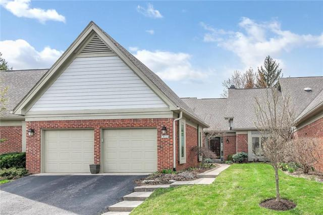 9346 Spring Forest Drive, Indianapolis, IN 46260 (MLS #21633658) :: AR/haus Group Realty