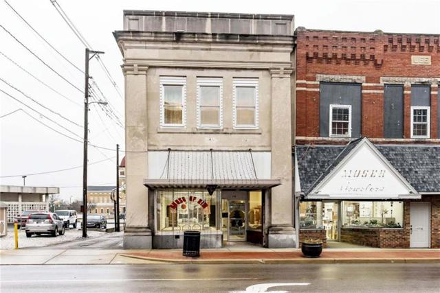 115 S Anderson Street, Elwood, IN 46036 (MLS #21633680) :: The Star Team | RE/MAX Realty Group