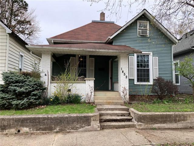 1452 Wayne Street, Noblesville, IN 46060 (MLS #21633821) :: AR/haus Group Realty