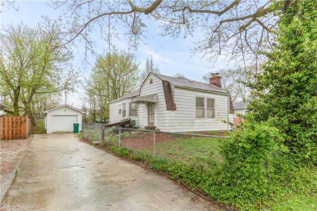 8825 Center Street, Indianapolis, IN 46234 (MLS #21634998) :: AR/haus Group Realty