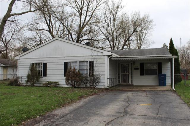 4008 Strathmore Drive, Indianapolis, IN 46235 (MLS #21635330) :: Heard Real Estate Team | eXp Realty, LLC